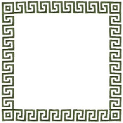 Greek Key Border Embroidery Design | AnnTheGran