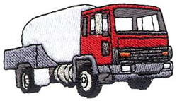 Propane Truck embroidery design
