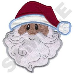 Santa Applique embroidery design