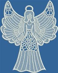 FSL Angel embroidery design