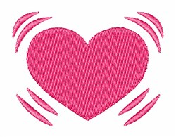 Beating Heart embroidery design