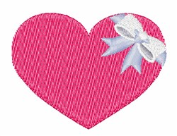 Gift Heart embroidery design