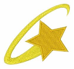Dizzy Star embroidery design