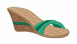 Sandal embroidery design