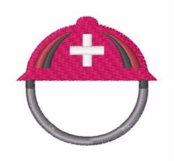 Rescue Helmet embroidery design