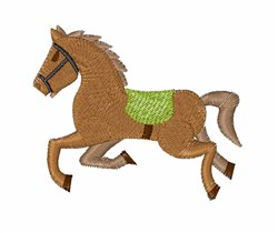 Race Horse embroidery design