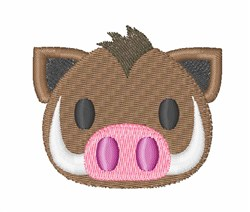 Boar Head embroidery design