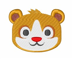 Hamster Head embroidery design