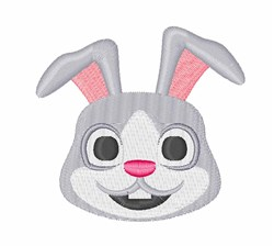 Rabbit Head embroidery design