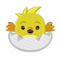 Hatching Chick embroidery design