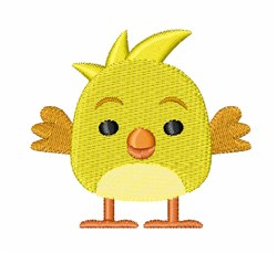 Hatched Chick embroidery design
