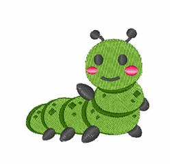 Green Bug embroidery design