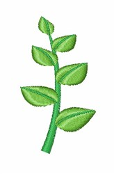 Herb embroidery design