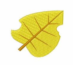 Fall Leaf embroidery design