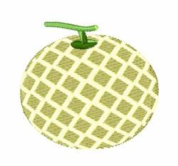 Melon embroidery design