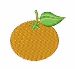 Tangerine embroidery design