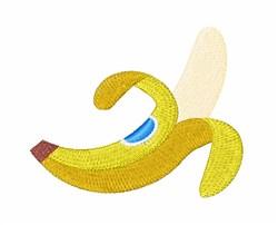 Banana embroidery design