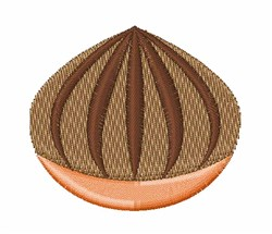 Chestnut embroidery design