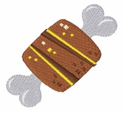 Meat On Bone embroidery design