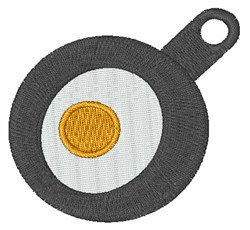 Fried Egg embroidery design