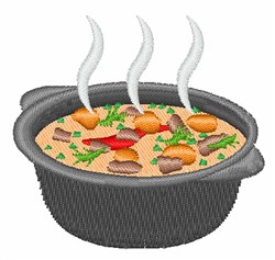 Pot Of Stew embroidery design