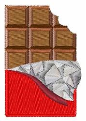 Chocolate Bar embroidery design