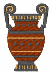 Amphora embroidery design