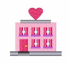 Love Hotel embroidery design