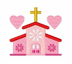 Wedding Chapel embroidery design