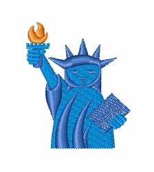 Statue Of Liberty NYC embroidery design