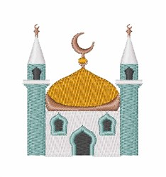 Mosque embroidery design