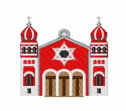 Synagogue embroidery design