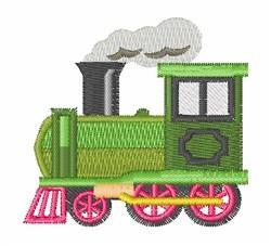 Steam Engine embroidery design