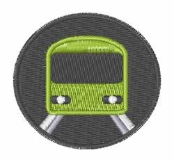 Metro Train embroidery design
