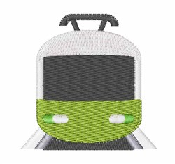 Tram embroidery design