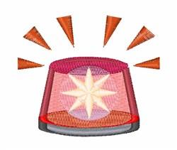 Light Beacon embroidery design
