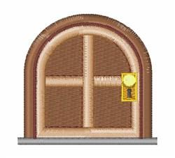 Door embroidery design