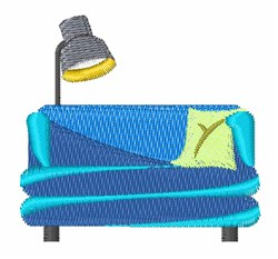 Couch embroidery design
