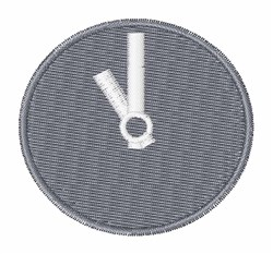 Wall Clock embroidery design