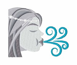 Blowing Wind embroidery design