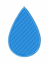Rain Drop embroidery design