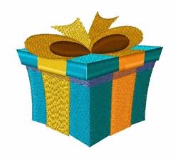 Gift Box embroidery design