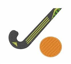 Field Hockey embroidery design