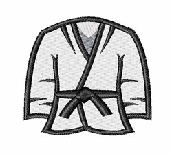 Karate Shirt embroidery design