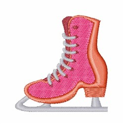 Ice Skate embroidery design