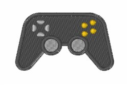 Video Game Controller embroidery design