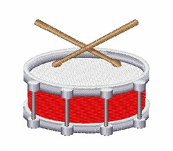 Drum embroidery design
