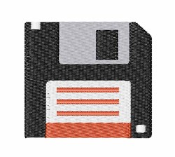 Floppy Disc embroidery design