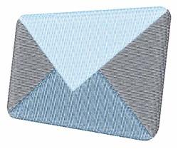 Envelope embroidery design