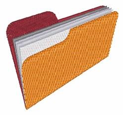 File Folder embroidery design